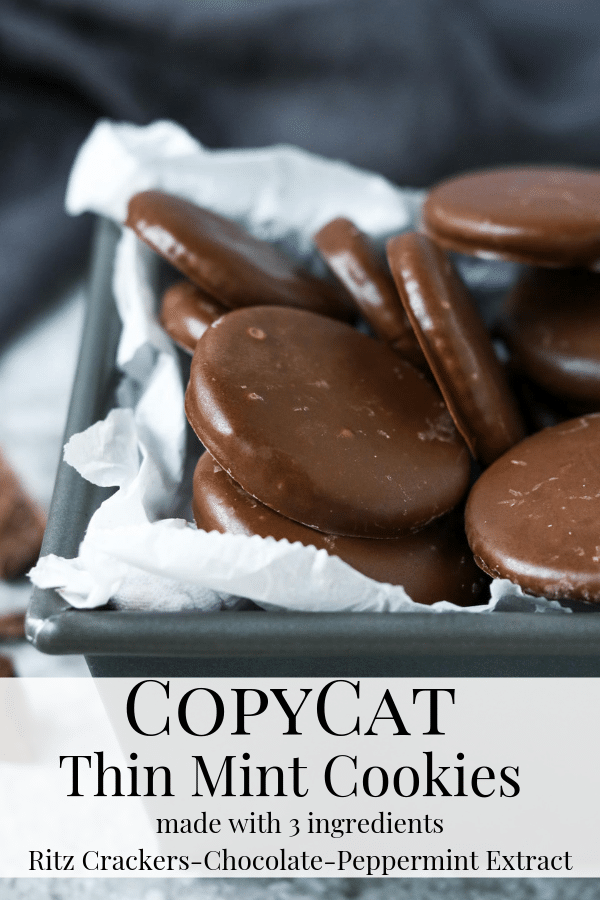 Copycat Thin Mint Cookies Pin Image