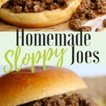 Homemade Sloppy Joes Pinterest
