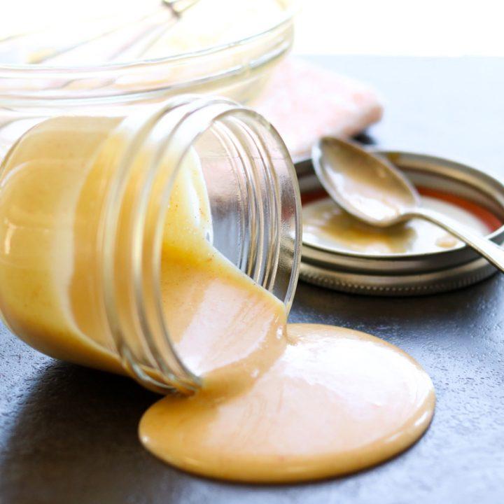 2 minute honey mustard sauce momsdinner.net
