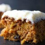 Grandma's Carrot Cake with Cream Cheese Buttercream momsdinner.net