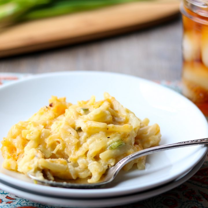 Cheesy Potato Casserole momsdinner.net