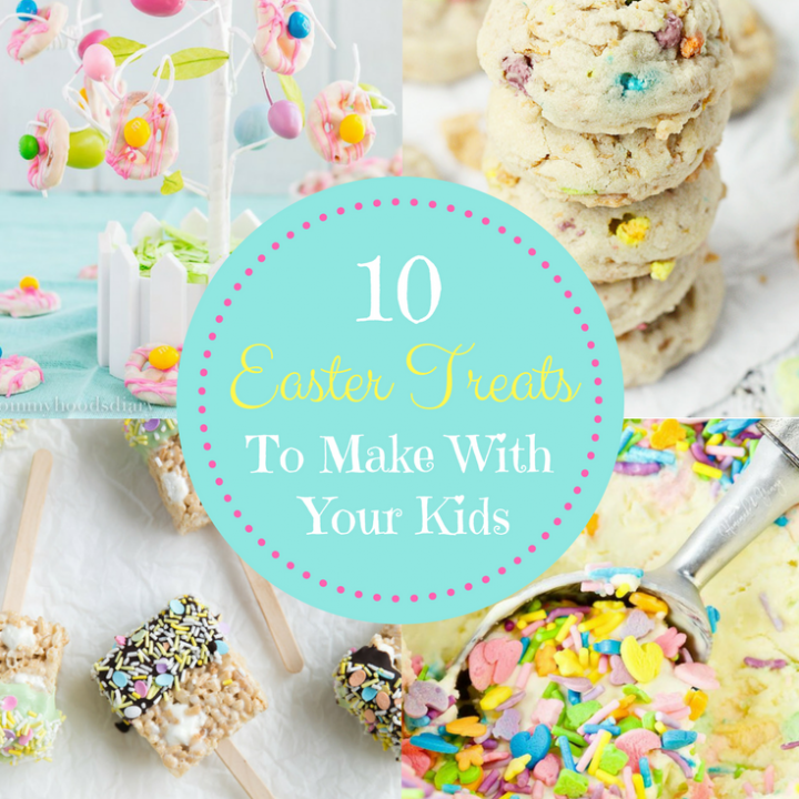 10 Easter Treats to Make with your Kids momsdinner.net