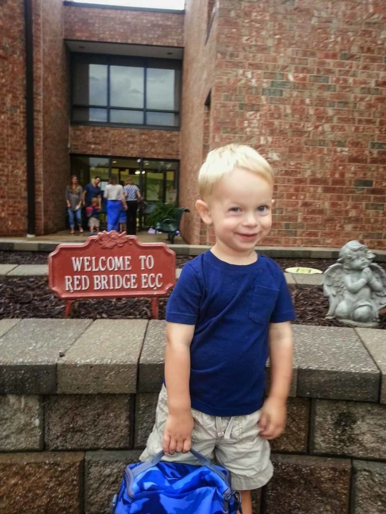 Kyle's First Day at ECC