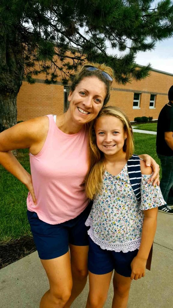 Maddie at school