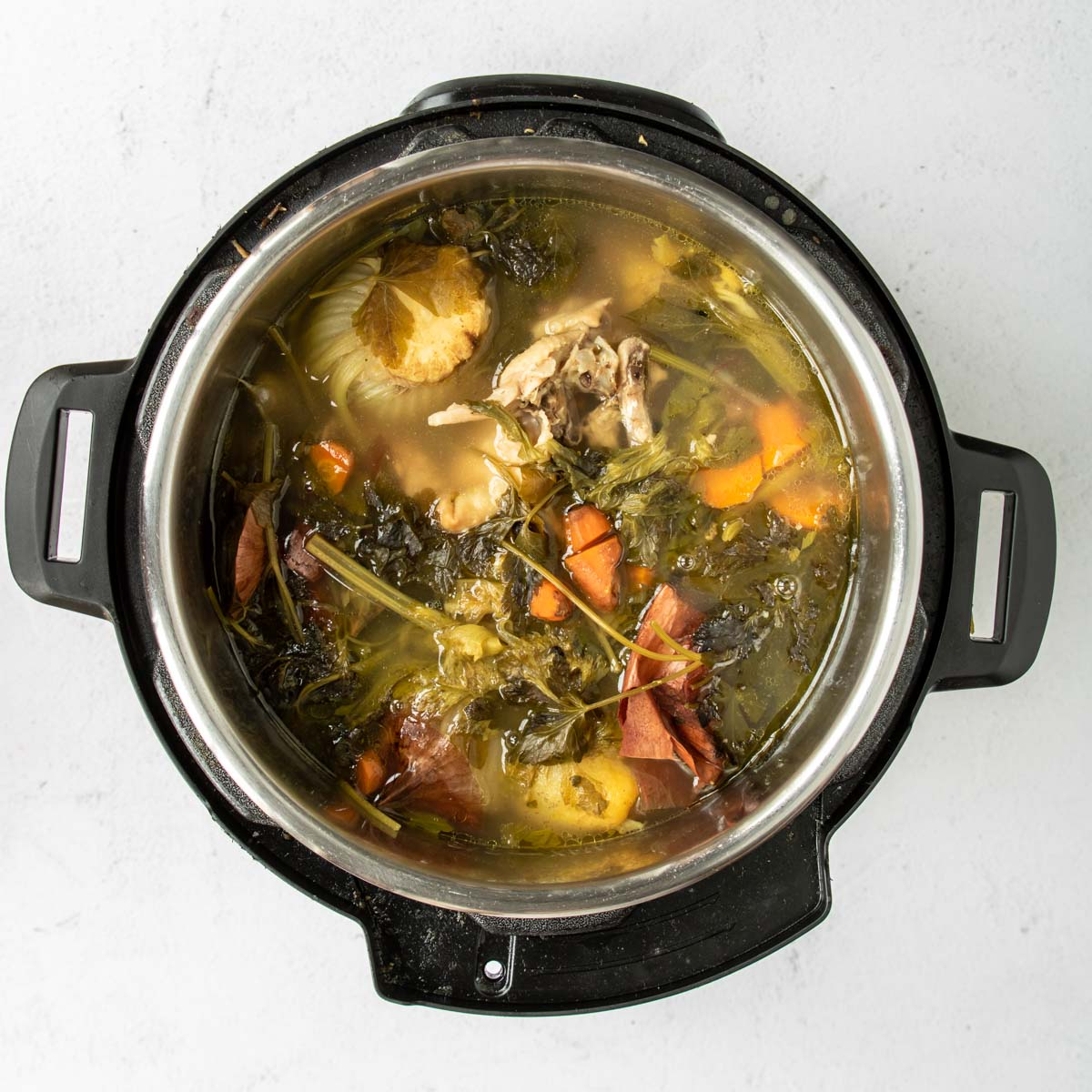 chicken stock made in the instant pot