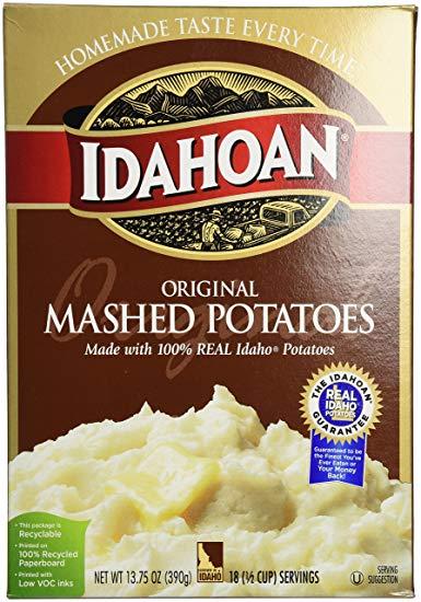 Idahoan Original Mashed Potato Flakes