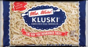 Kluski Noodles, perfect for Chicken Noodle Soup for Kids
