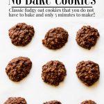 No bake cookie recipe pinterest image