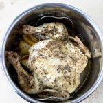 Rotisserie chicken in the Instant Pot