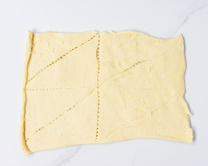 crescent dough sheet