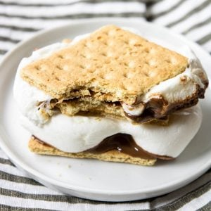Smore cooked in the oven
