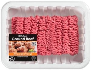 85 15 ground beef