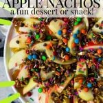 apple nacho pin image with text
