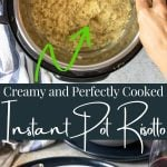 Instant Pot Risotto pin image