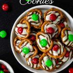 Christmas Hug Cookies with pinterest text