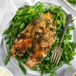 bone in turkey breast with herbs