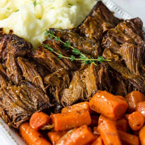 Beef Pot Roast with Gravy