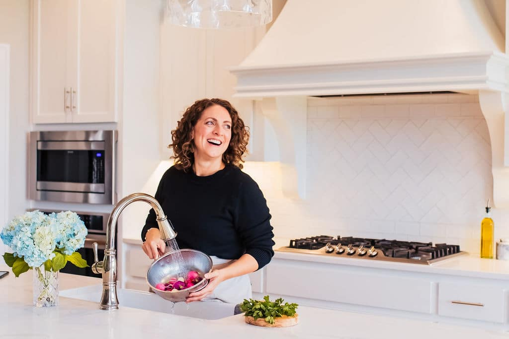 Susie in the kitchen