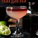 Pinterest Image with Devil's Margarita
